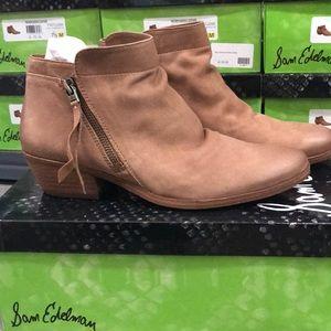 Sam Edelman Packer Bootie Saddle Leather